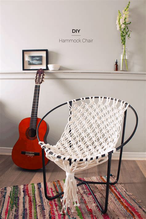 How To Diy Macrame Hammock Chair