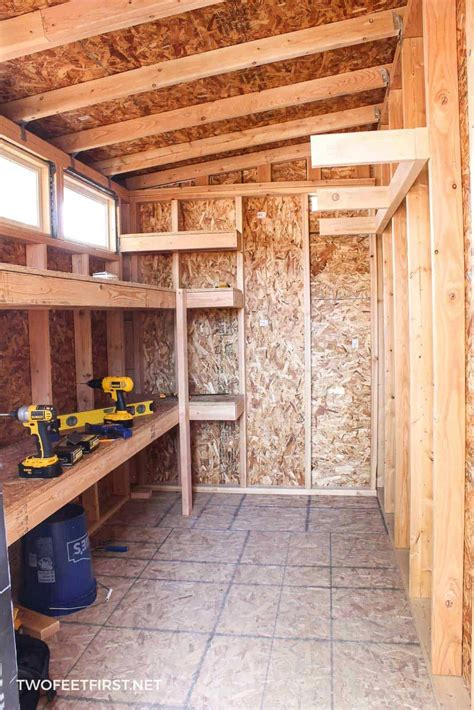 How To Frame A Storage Shed