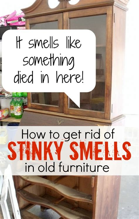 How To Get Musty Smell Out Of Wood Dresser
