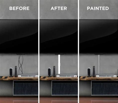 How To Hide Wires On A Mounted Tv