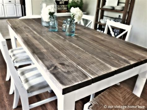 How To Make A Dining Room Table Top