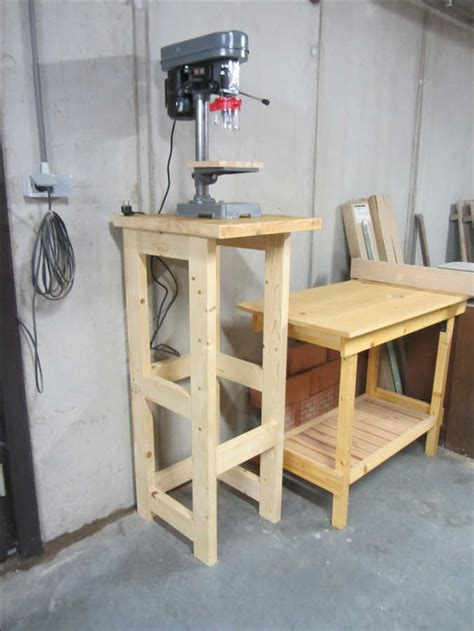 How To Make A Drill Press Stand