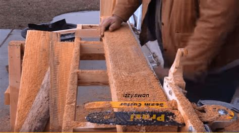 How To Make A Homemade Saw Mill