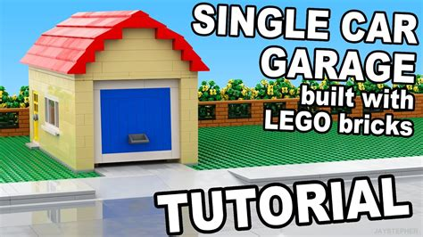 How To Make A Lego Garage Jaystepher