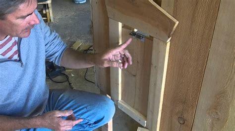How To Make A Manual Chicken Coop Door