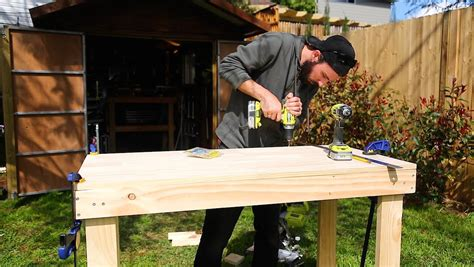 How To Make A Simple Workbench