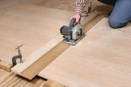 How To Make A Straight Edge For Circular Saw