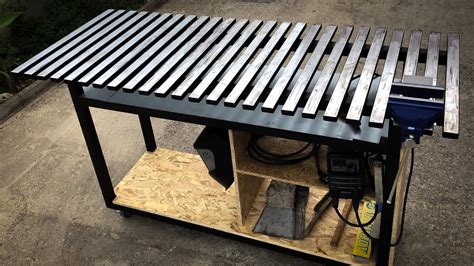 How To Make A Welding Table