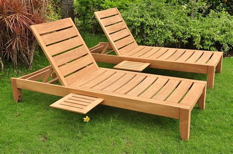 How To Make A Wooden Lounge Chair