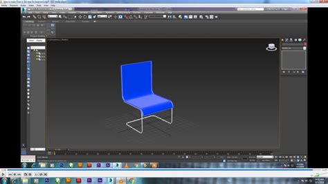 How To Make Chair In 3ds Max