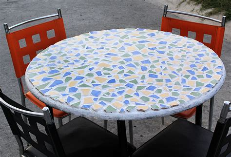 How To Make Mosaic Table Top