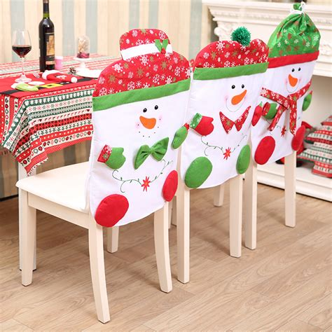 How To Make Xmas Chair Covers