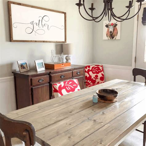 How To Make Your Own Farmhouse Table