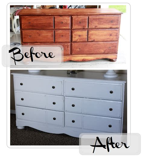 How To Paint A Wood Dresser White