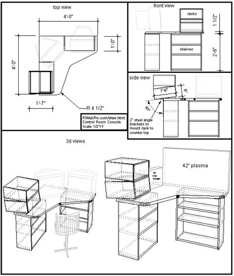 How To Sketch Woodworking Plans