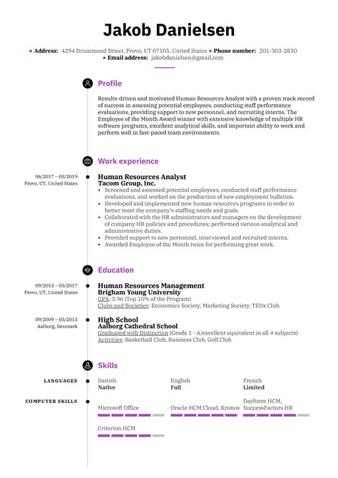 hris analyst description hr analyst resume sample for reference hris analyst resume hr analyst resume