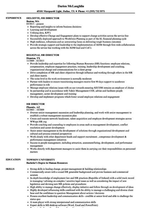 hr director resume sample one sample resume for hr manager templates and examples
