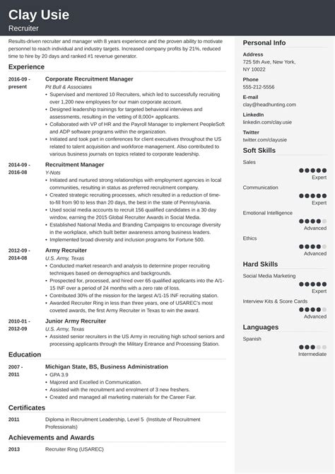 cover letter healthcare recruiter job description senior
