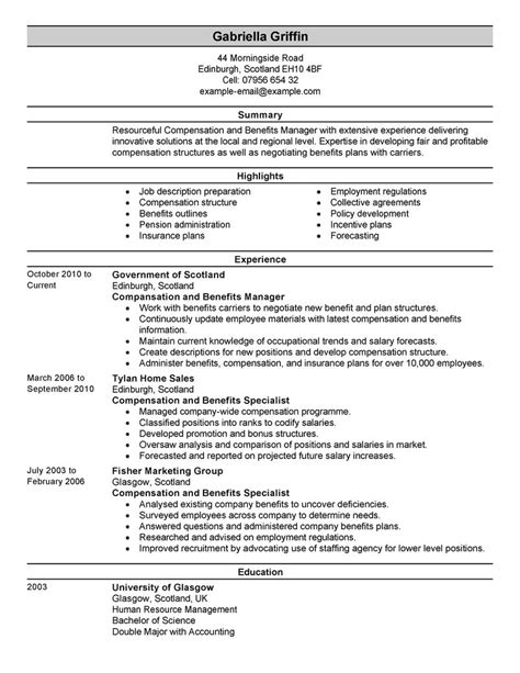 hr resume entry level human resources entry level resume