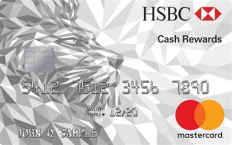 Hsbc cash rewards credit card visa credit card charges hsbc cash rewards credit card hsbc cash rewards mastercard credit card comparecards colourmoves