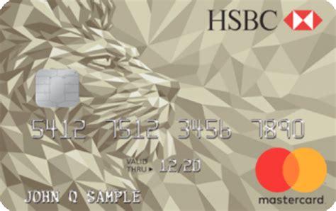 Hsbc Credit Card Gold Gold Mastercard Credit Card Hsbc Usa