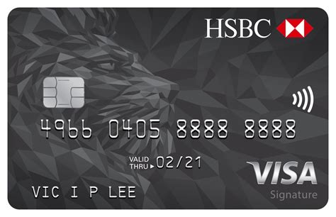 Hsbc Credit Card Hk Hotline Hsbc Visa Signature Card Credit Card Hsbc Hk