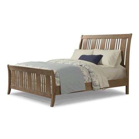 Huber Sleigh Bed by Loon Peak