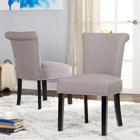 Hubler Upholstered Dining Chair (Set of 2)