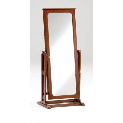 Hughesville Free Standing Jewelry Armoire with Mirror