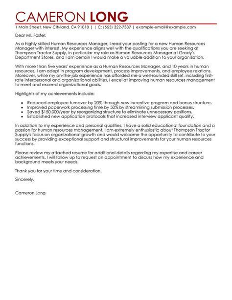 Hr Executive Resume Cover Letter | Reference Letter Apartment