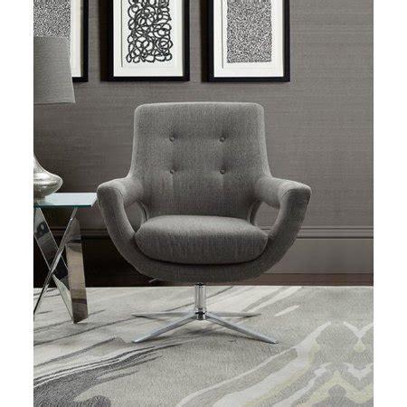 Humiston Contemporary Adjustable Swivel Armchair
