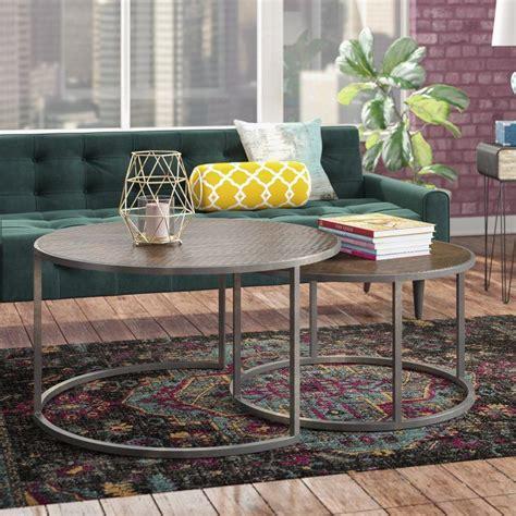 Hunsicker 2 Piece Coffee Table Set