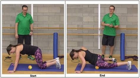 hurt hip flexor from squatting position for bowel