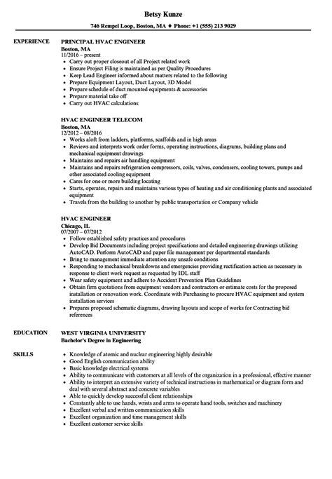 resume sample hvac engineer hvac project engineer resume example bsr resume sample - Hvac Project Engineer Sample Resume