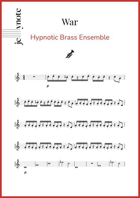 Brass Hypnotic Brass Ensemble Sheet Music.