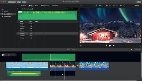 iMovie Editor