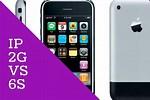 iPhone 2G vs 6s
