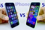 iPhone 5C vs 5S