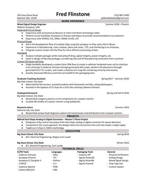 ic design engineer resume sample sample resume 3 thewolfegroup - Ic Design Engineer Sample Resume
