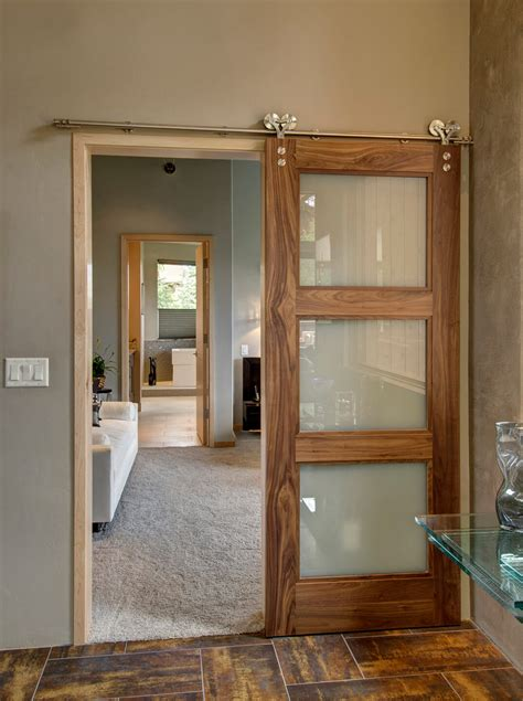 Ideas For Rustic Inside Design Sliding Barn Door Ideas To Get The Fixer Upper Look