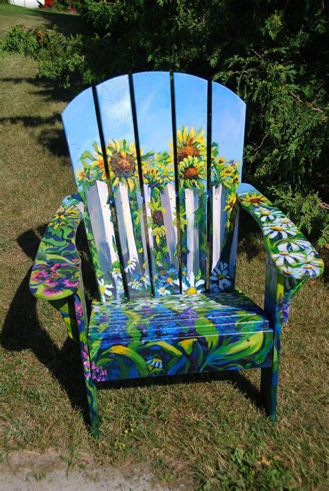 Ideas For Painting Adirondack Chairs