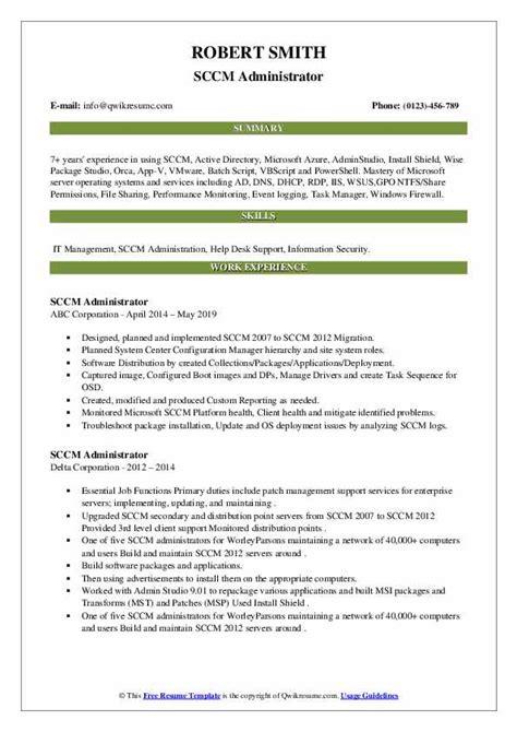 iis administrator resume best kindergarten resume
