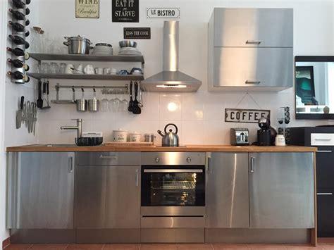 Ikea Küche Edelstahl Arbeitsplatte