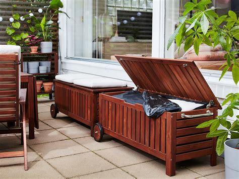 Ikea Wooden Bench Storage
