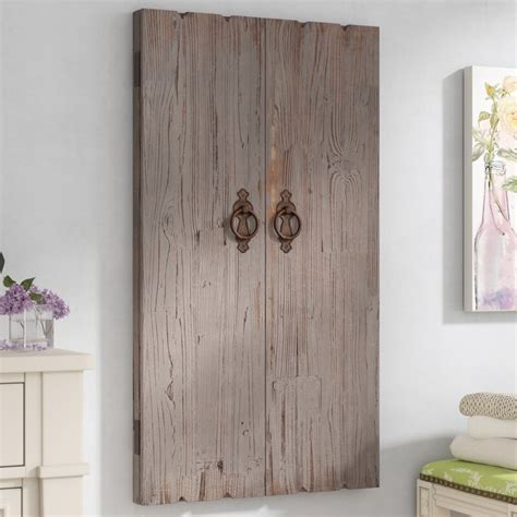 Ilias Wooden Wall Storage Cabinet Jewelry Armoire