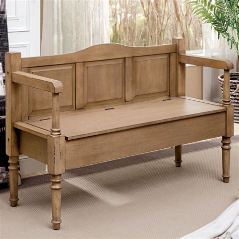 Ilkley Wood Storage Bench
