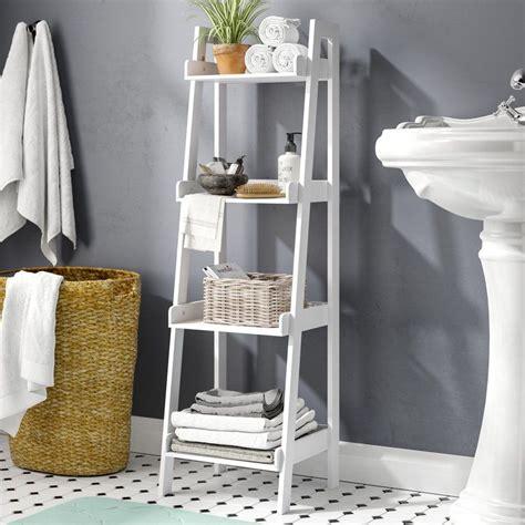 Ilovici Ladder 13 W x 44 H Bathroom Shelf