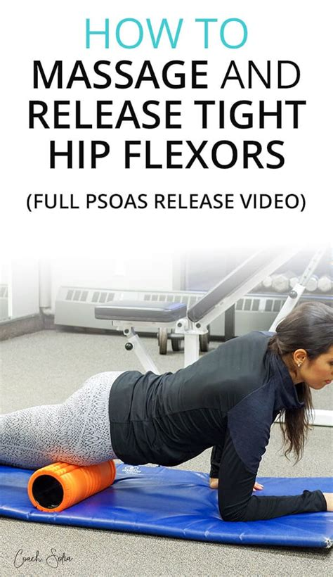 immediate hip flexor release massages at home