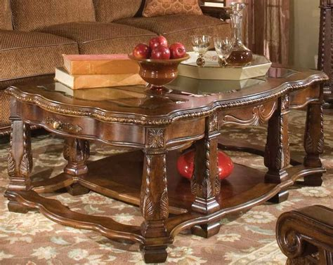 Imperial Court 3 Piece Coffee Table Set