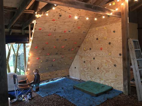 In Home Climbing Wall